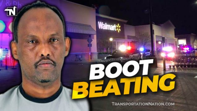 Trucker Beats Tow Truck Driver Over Boot in Walmart parking lo
