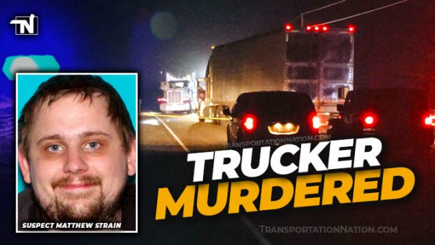 Trucker Murdered by Matthew Strain
