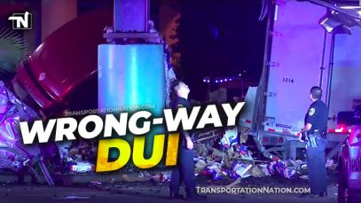Trucker Survives I-45 bridge Houston – DUI