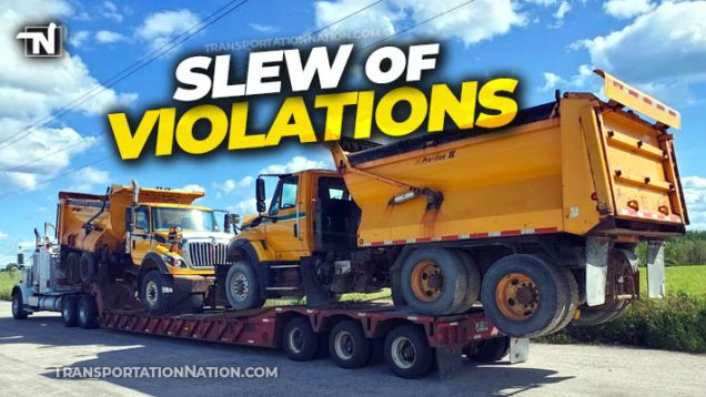 slew of violations in canada