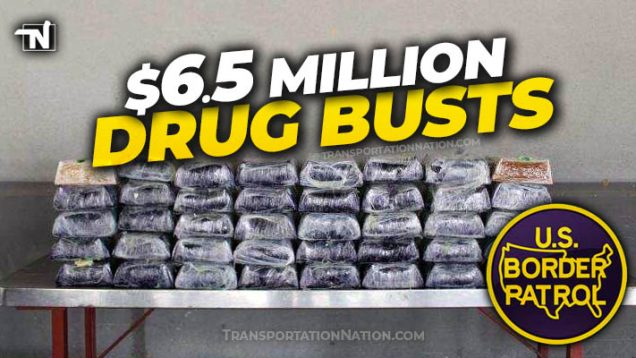 $6.5 Mill Drug Busts