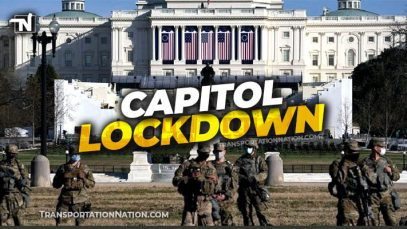 Capitol Lockdown for Inauguration