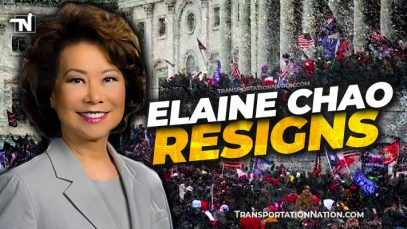 Elaine Chao resigns