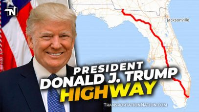 President Donald J Trump Highway 27 Florida