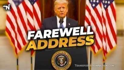 President Donald Trump Farewell Address