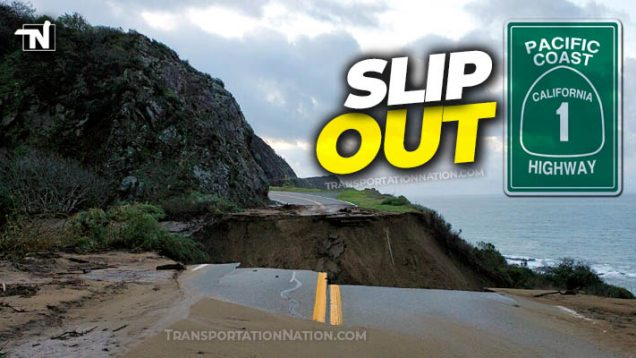 Slip Out Highway 1 California