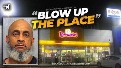 Trucker Threatens to Blow Up Nashville Gas Station
