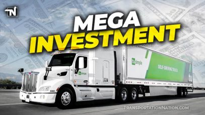 mega investment TuSimple