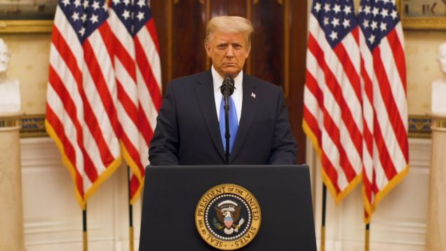 President Trump Delivers Farewell Address to the Nation