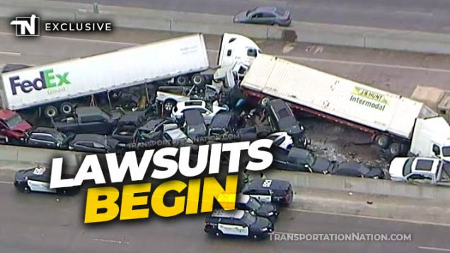 Fort Worth Pileup Lawsuits Begin