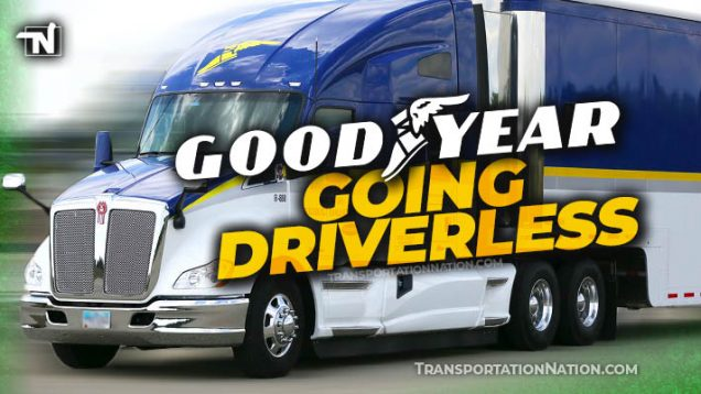 Goodyear Going Driverless