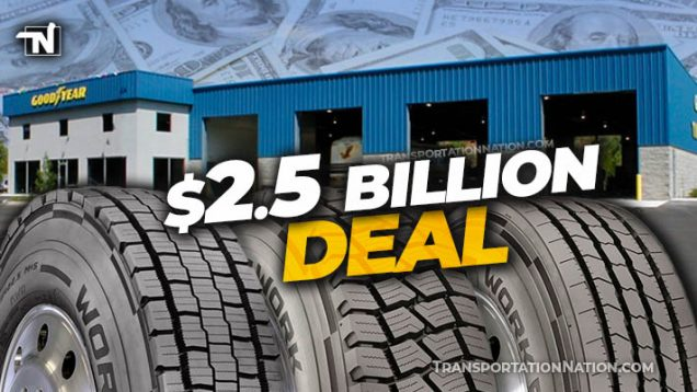 Goodyear buys Cooper for $2.5 BILLION