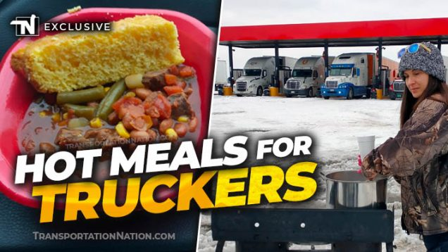 Hot Meals for Stranded Truckers