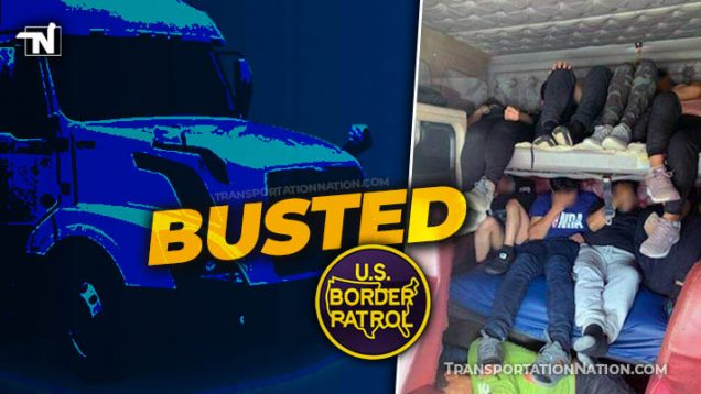 Human smuggling bust February 2, 2021