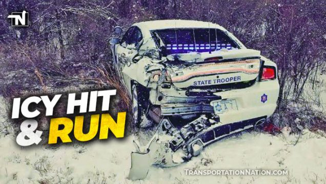 Icy Hit and Run in Arkansas