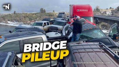 Montana Bridge Pileup