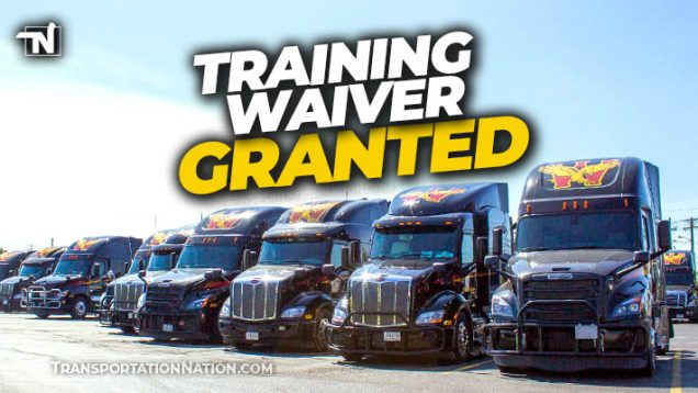 Wilson Logistics Training Waiver Granted