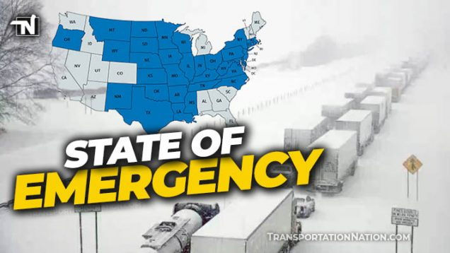Winter Storm Uri FMCSA State of Emergency