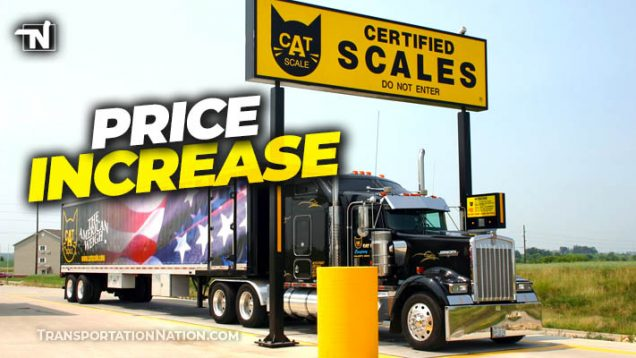 CAT Scale Price Increase March 26, 2021