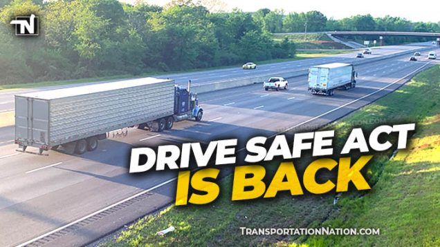 DRIVE Safe Act is Back