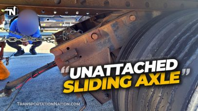 GaDPS Unattached Sliding Axle