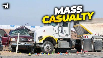 Mass Casualty Accident in Southern California