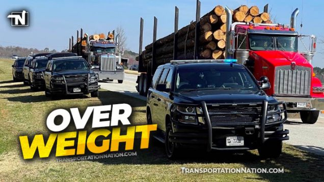 Overweight log trucks GaDPS