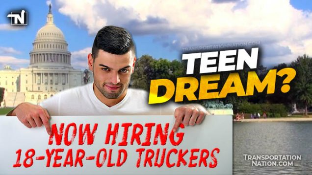 Teen Dream 18 year old truckers