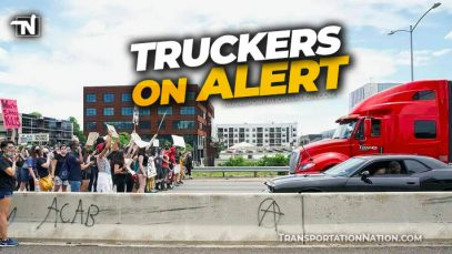 Truckers on Alert George Floyd Trial