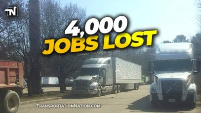 Trucking Sheds 4,000 Jobs