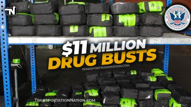 $11 million drug busts