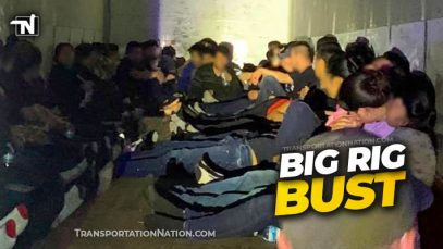 Big Rig Human Smuggling Bust in Laredo