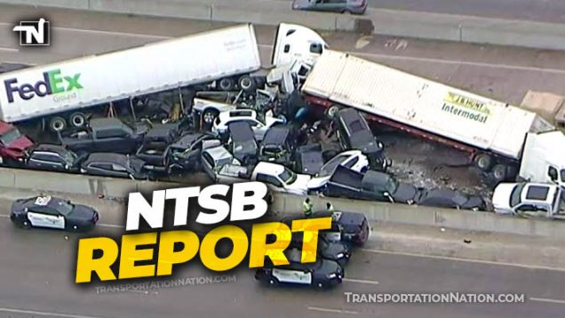 Fort Worth Pileup – NTSB Preliminary Report