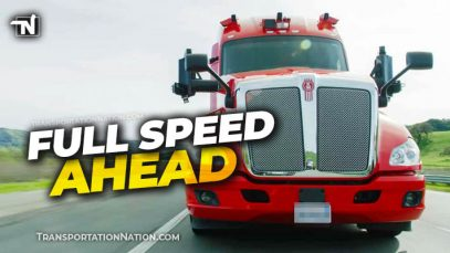 Full Speed Ahead – Autonomous Trucks