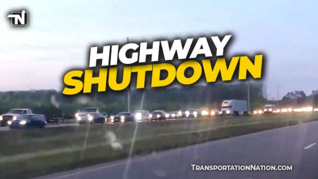 Highway Shutdown in NC