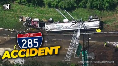 I-285 Tanker Crash in Georgia