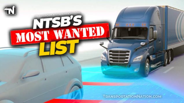 NTSB's MOST WANTED List