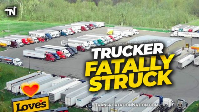 Trucker Fatally Struck at Michigan Love's