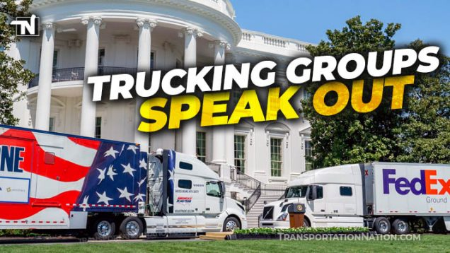 Trucking Groups Speak Out American Jobs Plan