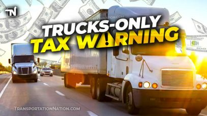 Trucks Only Tax Warning