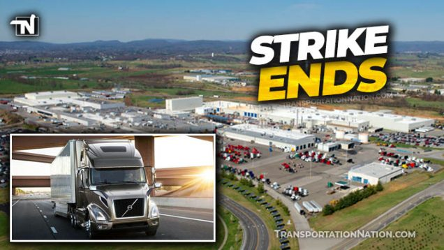 Volvo Strike Ends