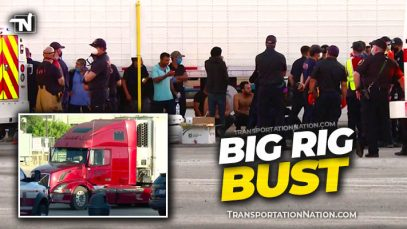 Big Rig Bust – 100 people TA in San Antonio