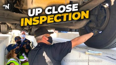 CVSA USDOT Up Close Inspection