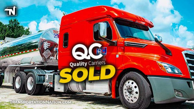 Quality Carriers Sold to CSX