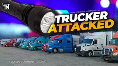 Trucker Attacked, Texas