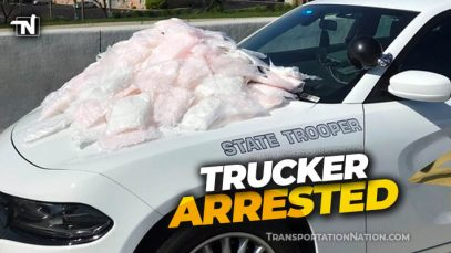 Trucker arrested for drugs in Indiana