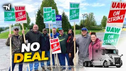 UAW Volvo Strike – NO DEAL
