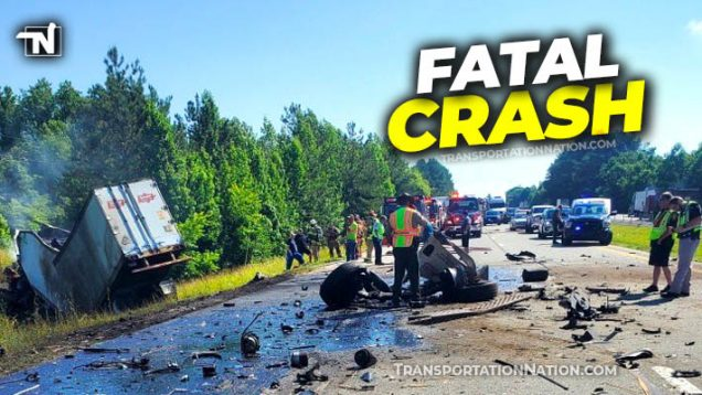 Fatal Crash – I-40 in Tennessee
