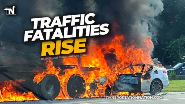 Traffic Fatalities Rise in 2020