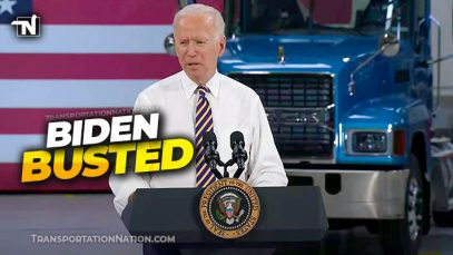Biden Claims He Used to Drive a Semi Truck
